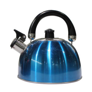 2.5L Whistling Kettle w Induction Bottom Metallic Blue