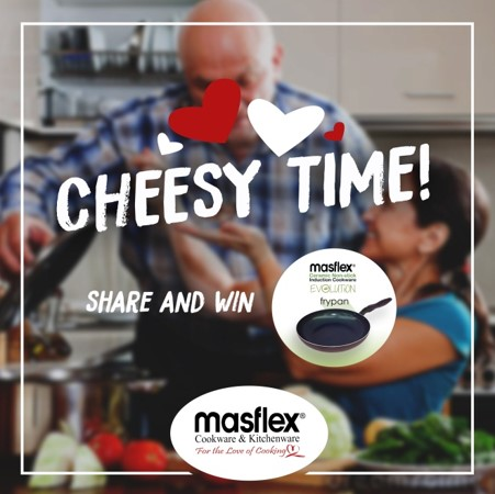 Cheesy Time | Share and Win!