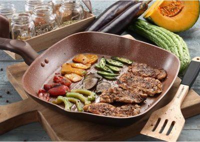 Grilled Pakbet Salad