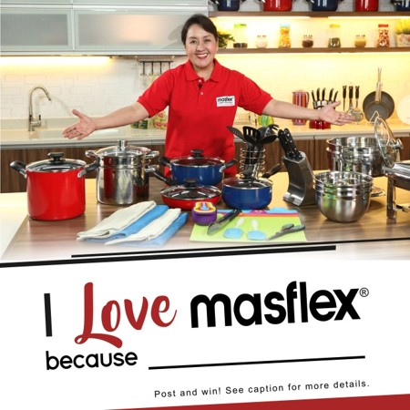 I Love Masflex because ______