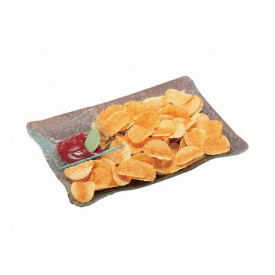 rectangular-snack-tray-with-condiment-holder