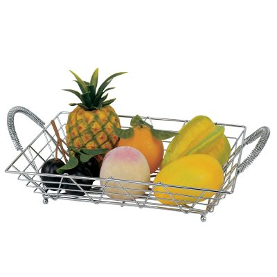 D-AE-548 Rectangular Fruit Basket with Double Ears