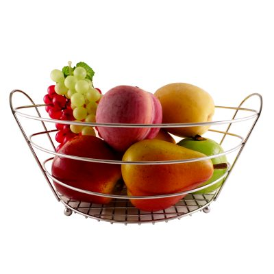 WL-076 Oval Fruit Basket with Holder