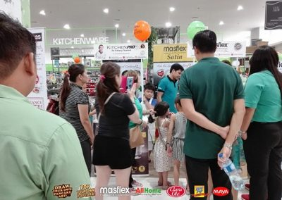 Masflex Interactive Cooking Demo at All Home - Kawit