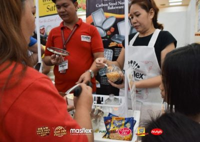 Masflex Interactive Cooking Demo at Puregold Qi Central