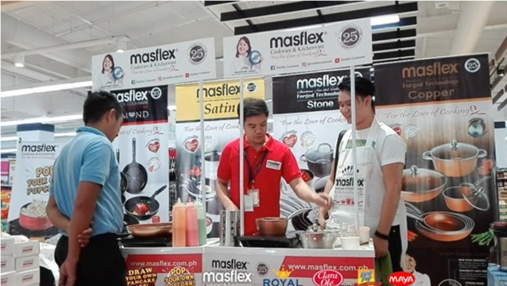 Masflex Interactive Cooking Demo at Royal Duty Free