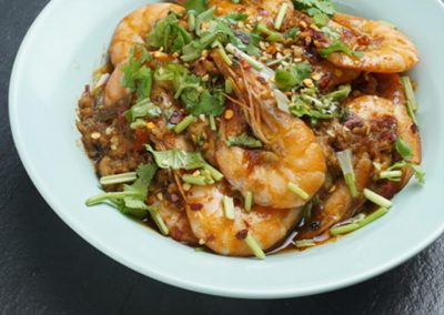 EASY CHILI SHRIMP