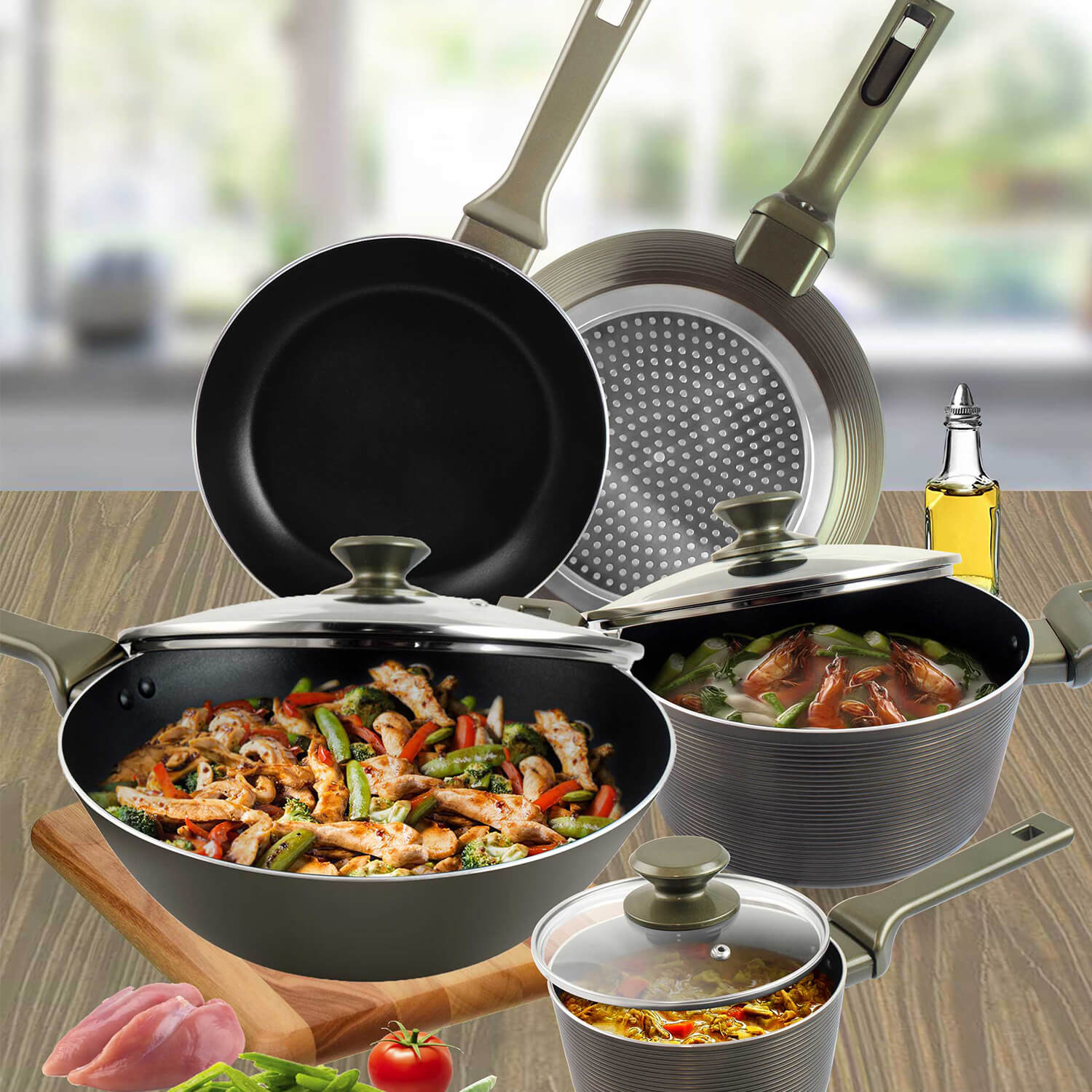 Masflex Forged Galaxy Cookware Set