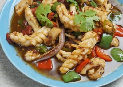 SWEET & SPICY BINAGOONGANG SQUID