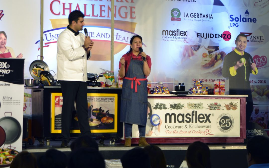 Umami Culinary Challenge 2017 with Masflex as Official Cookware Partner