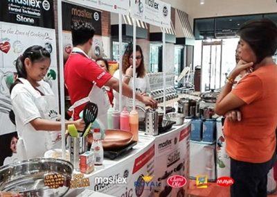 Masflex Interactive Cooking Demo at Royal Duty Free