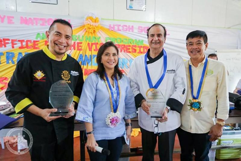 Masflex Kitchenpro's Culinary Social Responsibility Partnership with Vice-President's Angat Buhay Program